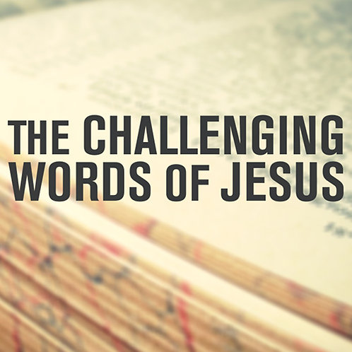 The Challenging Words of Jesus (Everything License)
