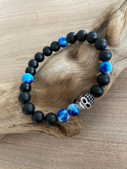 Bracelet Skullblou