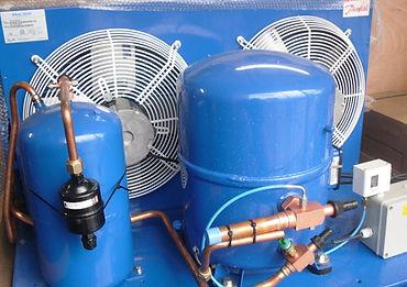 Reparacion de motores de camaras frigorificas, condensadores, refrigerante