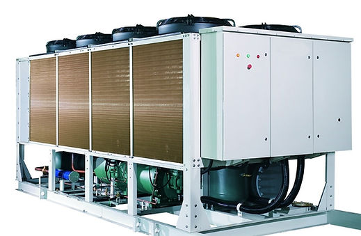 servicio tecnico de chillers, enfriadores de liquidos, aires acondicionados centrales