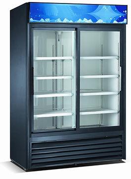 exhibidora vertical, refrigeracion integral