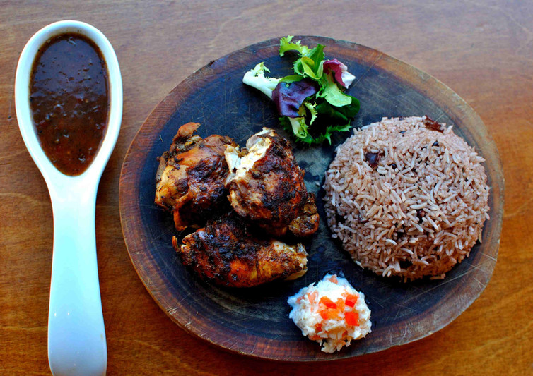 Jerk chicken meal with sauce edit 1 larg