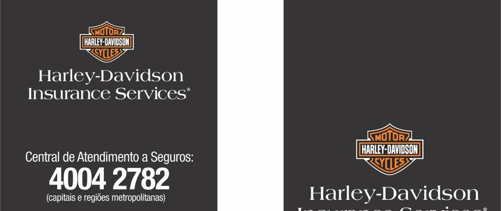 Adesivo Harley Davidson - 50 x 90mm - 4
