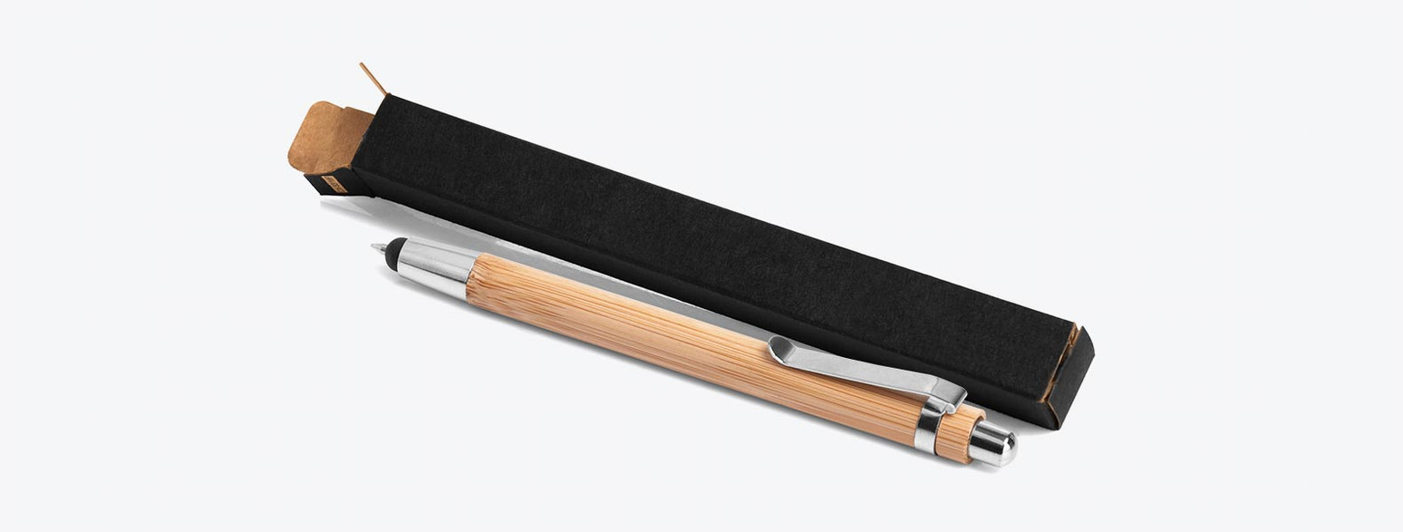 Caneta Esferográfica em Bambu