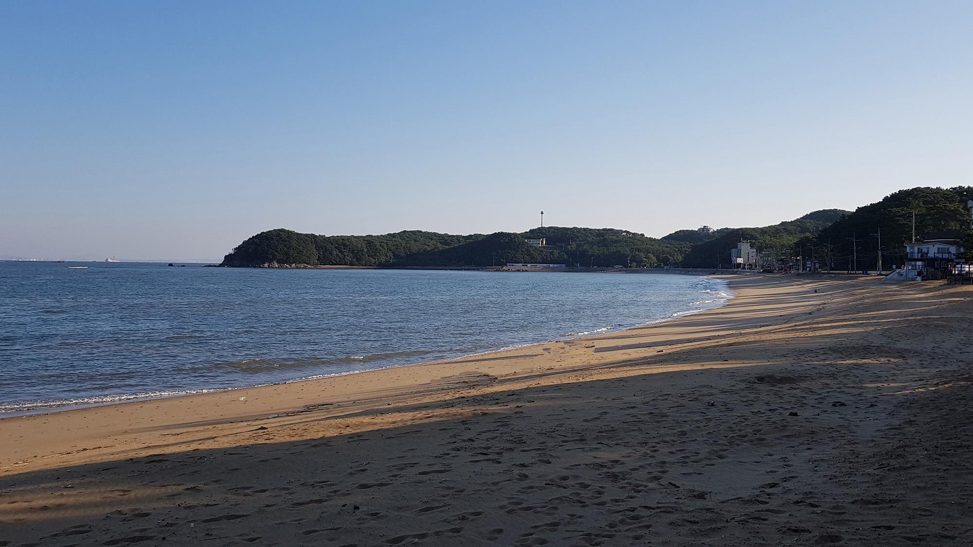 장경리 해변산책로