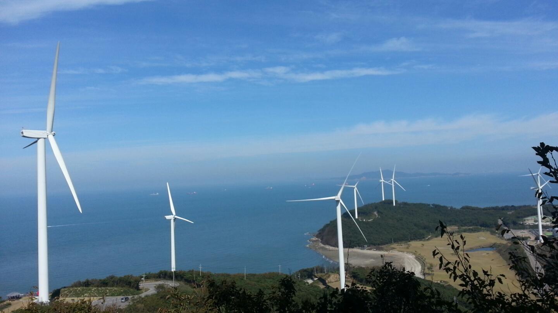 양로봉 풍력발전기