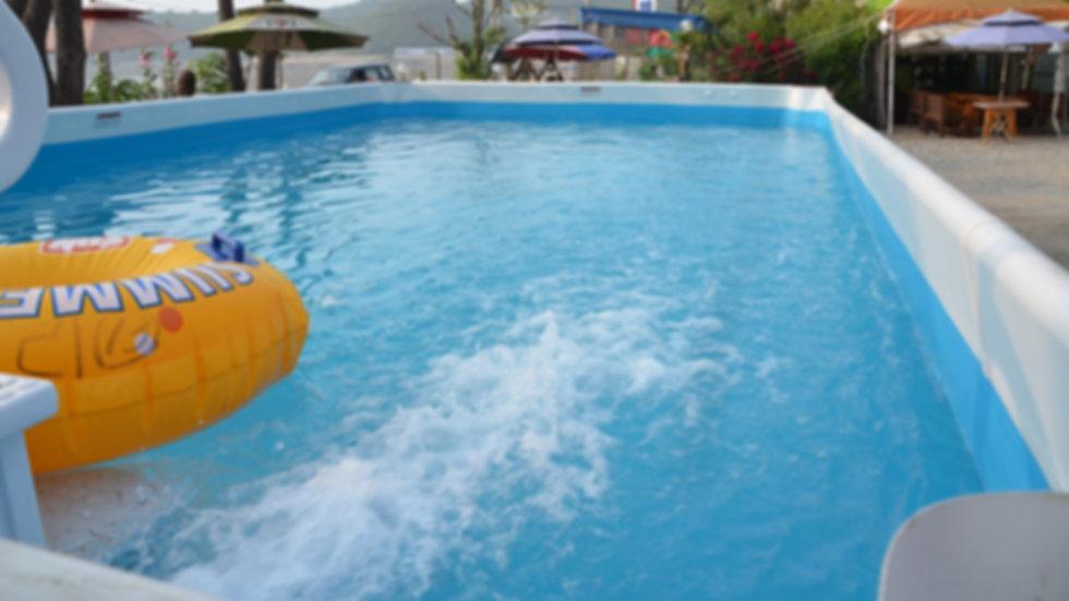 천연해수수영장