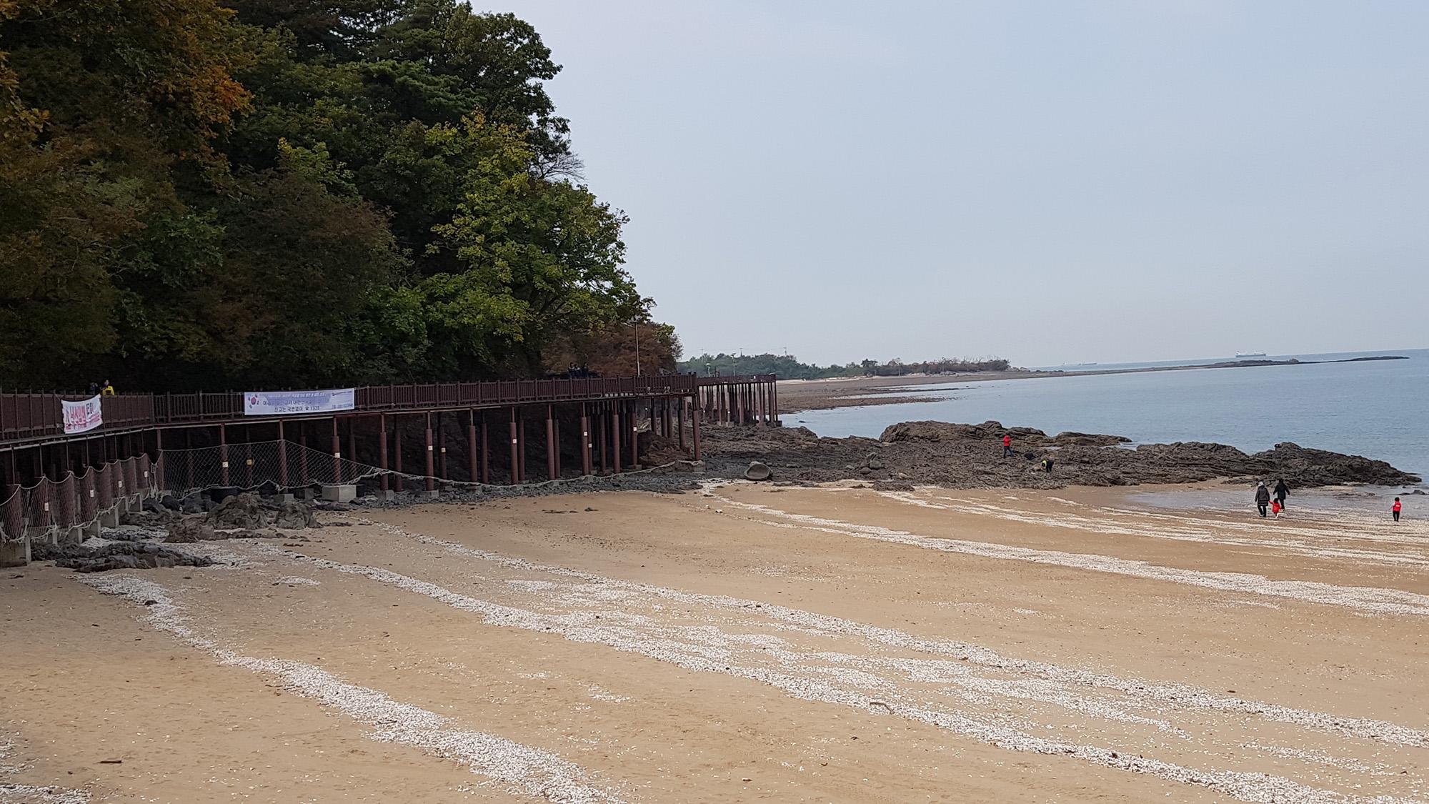 십리포 해변산책로
