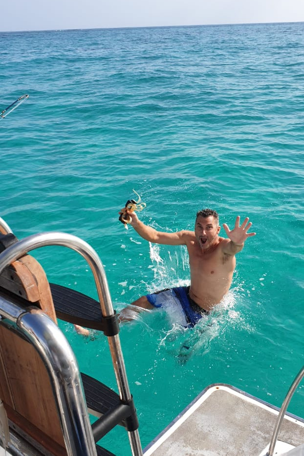 Jumping into tropical waters.jpg