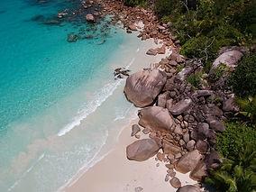 Aerial Seychelles