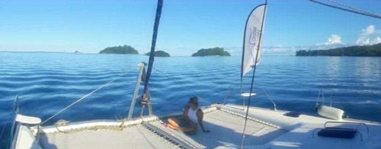 Bow   Yacht Sarah