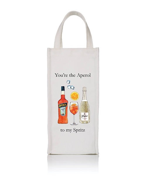 Toss Designs Aperol Spritz Wine Bag