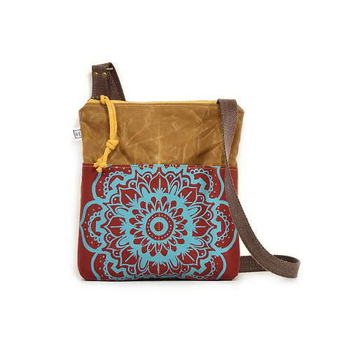 Rachel Elise Weekdayer Lotus Mandala Crossbody