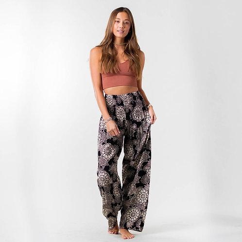Lotus and Luna St. Kitts Wide Leg Pant