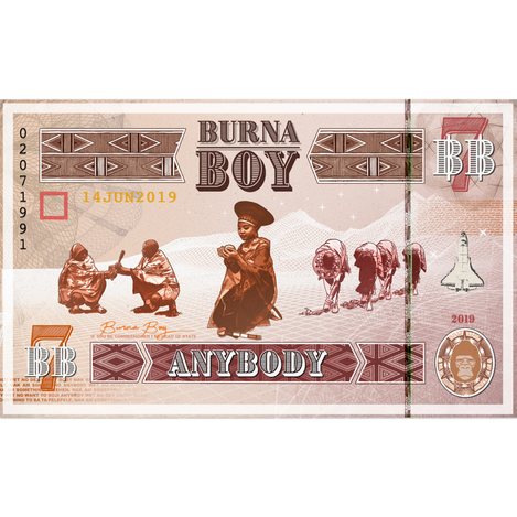 Burna Boy - Anybody Single