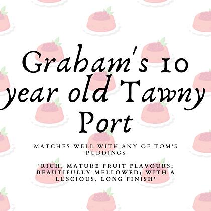 Graham's 10 yr old Tawny Port (20cl)