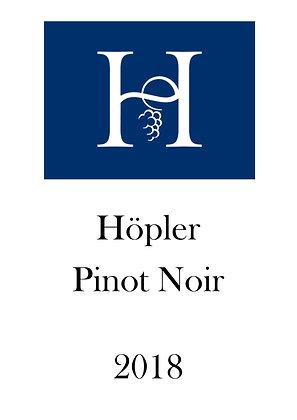 Hoepler Pinot Noir (2018)