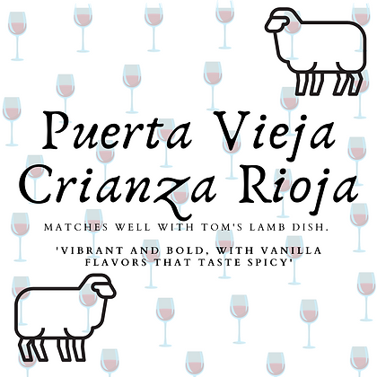 Puerta Vieja Rioja Crianza (2017)