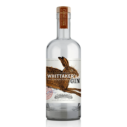 Whittakers Winer Solstice Gin (70cl)
