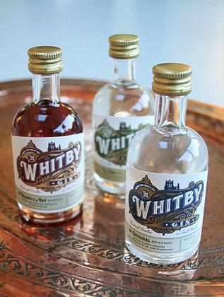 Whitby Gin Minatures Set