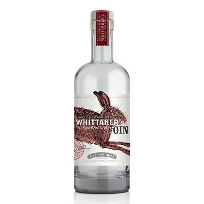 Whittakers Pink Particular Gin (70cl)