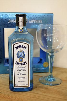 Bombay Sapphire Glass Set