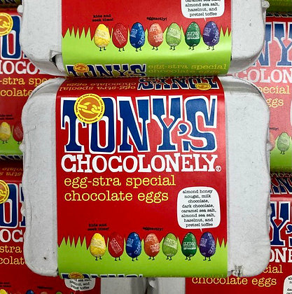 Tony's Chocolonely Egg-stra special Chocolate Eggs