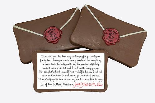 Chocolate Santa's Letter