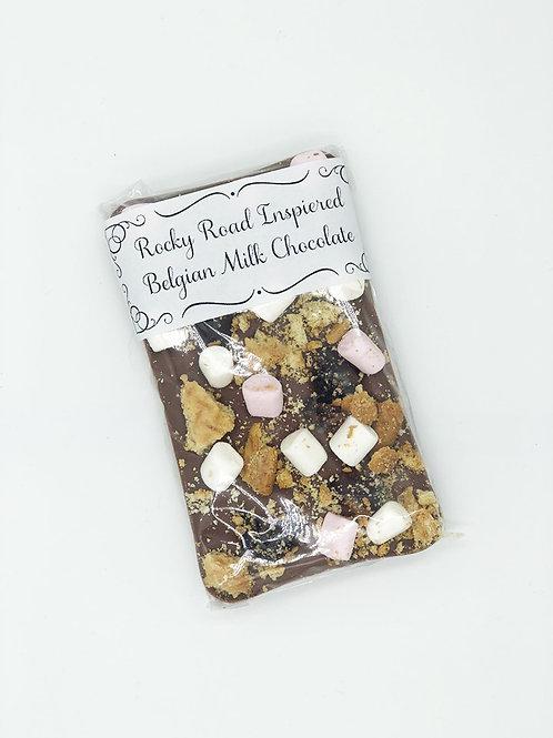 Rocky Road Inspired Belgian Chocolate Bar