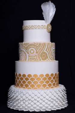 Gatsby Themed Cake