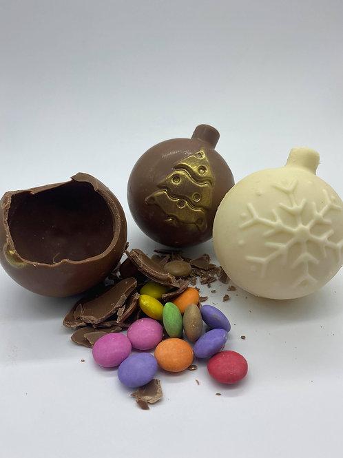 Belgian Chocolate Pinata Bauble