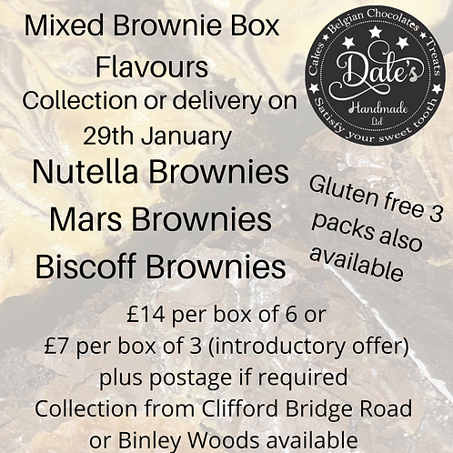 Mixed Brownie & Blondie Box