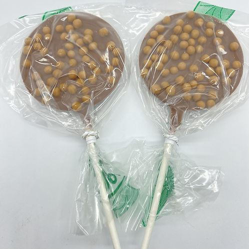 Salted Caramel Belgian Chocolate Lolly