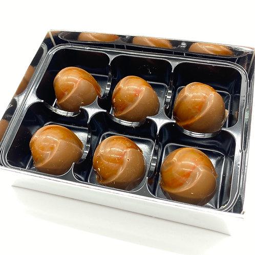 Handmade Cointreau Belgian Chocolate Truffles