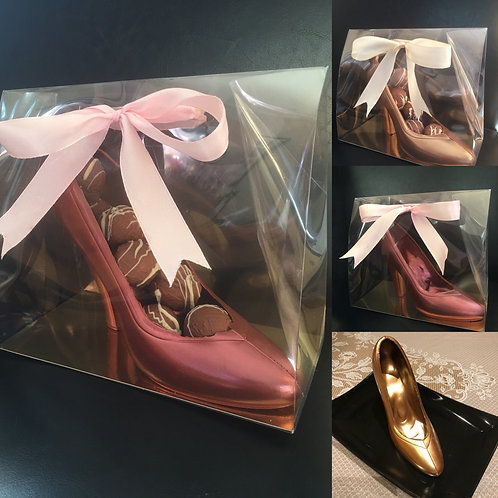 Handmade Belgian Chocolate Shoe