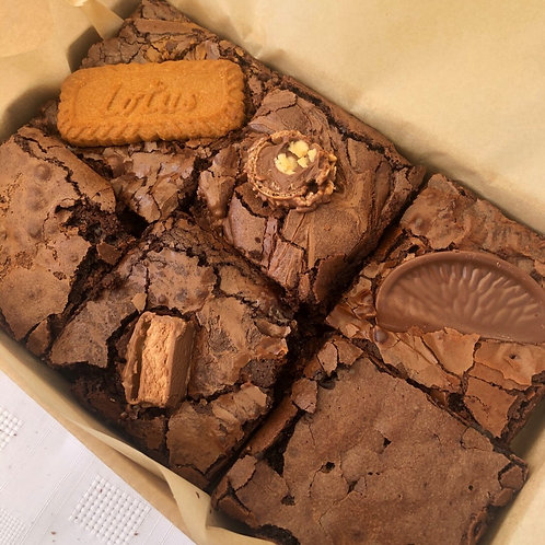 Mixed Pack of 6 Brownies