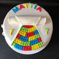 Toy Brick Cake