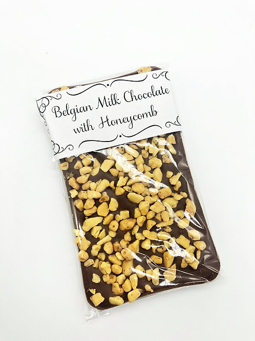 Honeycomb Belgian Chocolate Bar