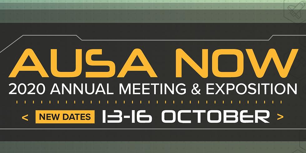 AUSA 2020 Virtual Meeting & Expo