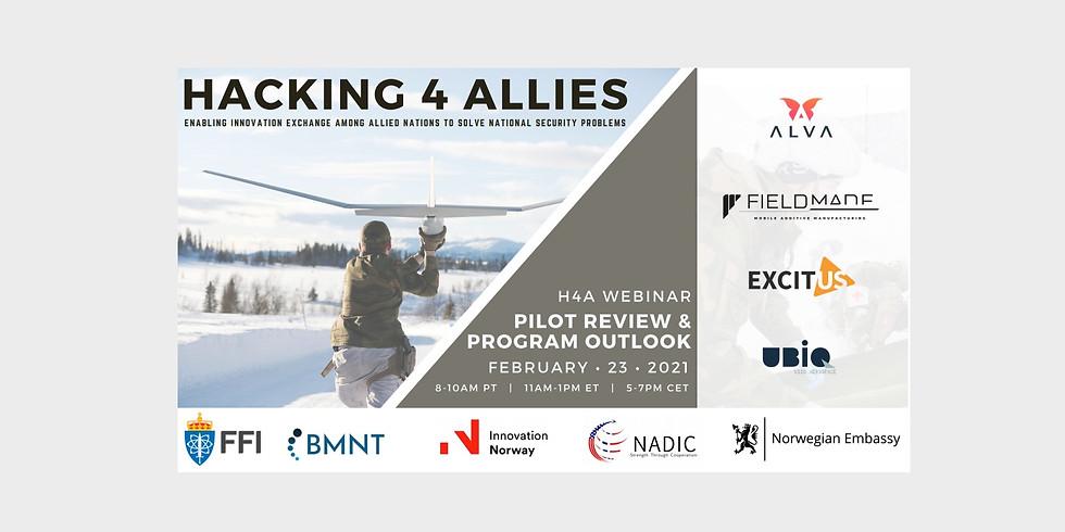 Hacking 4 Allies Pilot Review & Program Outlook