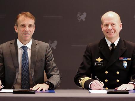 Intensjonsavtale om Strategisk Samarbeid Mellom Forsvarsmateriell og KONGSBERG