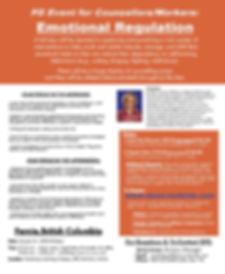FERNIE - Emotional Regulation Workshop -