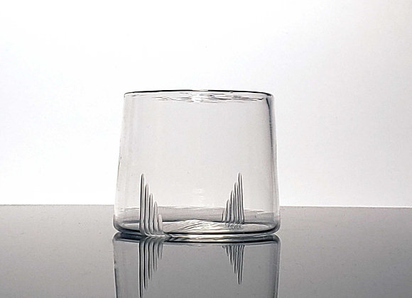 Engraved Blown Glass