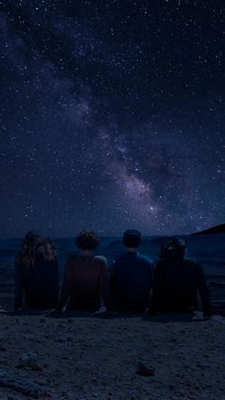שמים מלאי כוכבים במצפה רמון