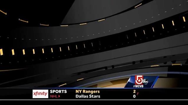 Boston Bruins National Anthem Clip