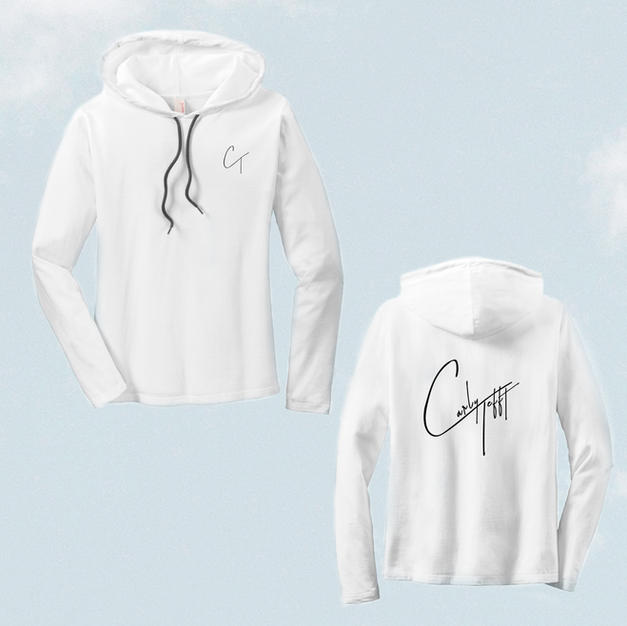 White Long Sleeve Unisex W/ Logo $35.00 + S&H