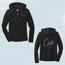Black Long Sleeve Unisex W/ Logo $35.00 + S&H