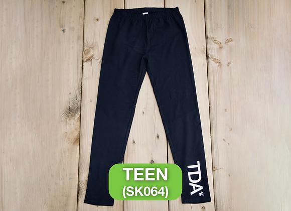 Black Leggings - Teen (SK064)