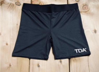 Black Cycle Shorts - Adult (TR047)