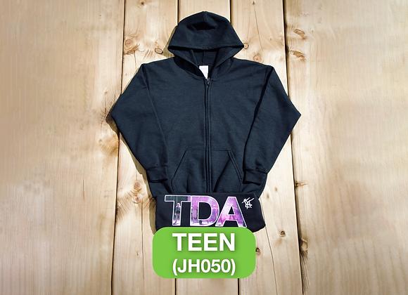 Black Zoodie - Teen (JH050)